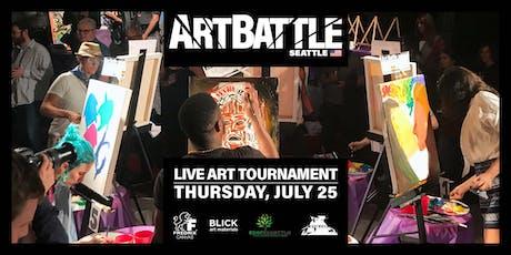 Art Battle Seattle - July 25, 2019 tickets