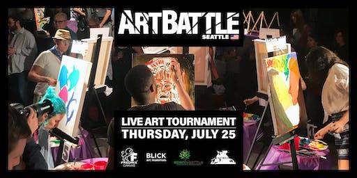 Art Battle Seattle - July 25, 2019