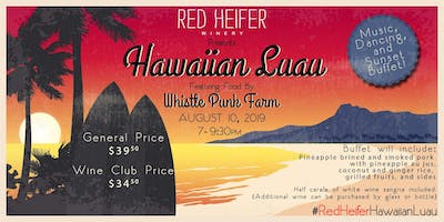Summer Beach Party at Red Heifer Winery featuring Whistle Punk Farm