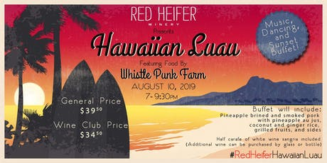 Summer Beach Party at Red Heifer Winery featuring Whistle Punk Farm tickets