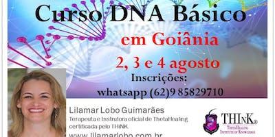 CURSO DNA BÁSICO - GOIÂNIA - 2, 3 e 4 de agosto 2019