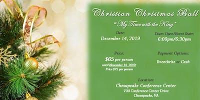 Christian Christmas Ball - Theme: My Time with the King
