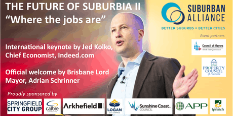 FUTURE OF SUBURBIA II - WHERE THE JOBS ARE tickets