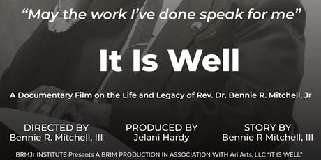It Is Well_Washington, D.C. Film Fundraiser_Screening tickets
