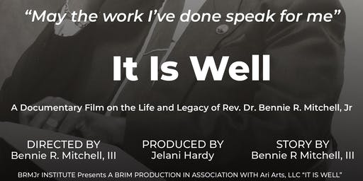 It Is Well_Washington, D.C. Film Fundraiser_Screening