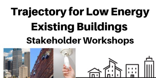 Trajectory for low energy existing buildings - Adelaide Workshop