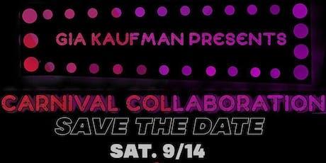 Carnival Collaboration tickets