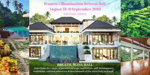 7 Days Women's Illumination & Transformational Yoga Retreat in Ubud, Bali