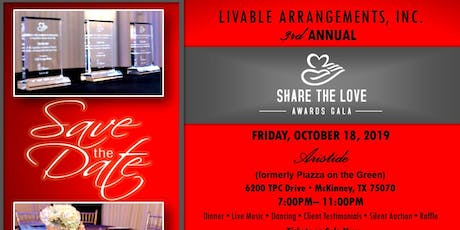 Share the Love Awards Gala tickets