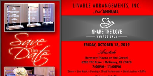 Share the Love Awards Gala