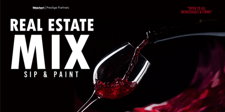Real Estate Mix | Sip & Paint tickets