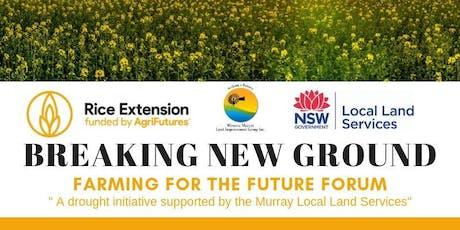 Breaking New Ground - Barham tickets