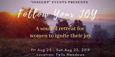 """Follow Your JOY"" Retreat for   Women tickets"