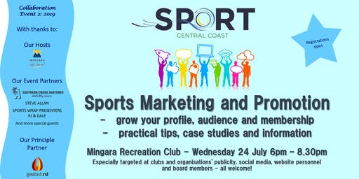 Sport CC - Sports Marketing and Promotion