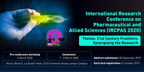 International Research Conference On Pharmaceutical & Allied Sciences  2020 tickets