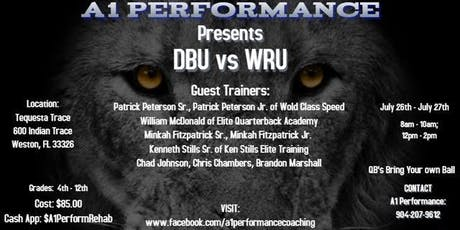 A1 Performance Presents DBU versus WRU tickets