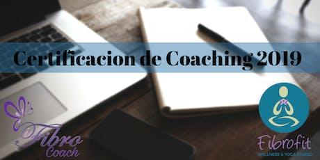 Certificación de Coach en FIBROMIALGIA Profesional-(CLASES ONLINE) tickets