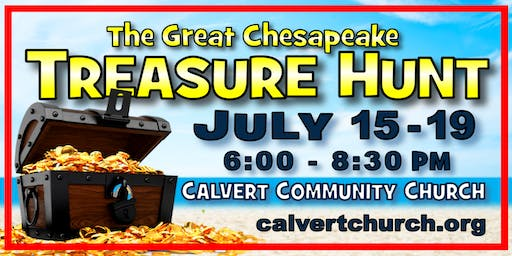 VBS 2019 - THE GREAT CHESAPEAKE TREASURE HUNT