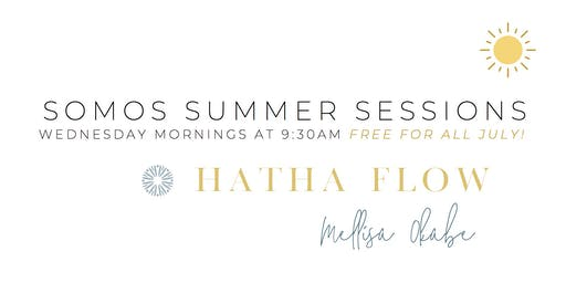 Hatha Flow Yoga Class // Free for all July!