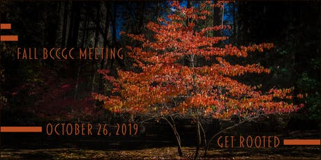 BC Council of Garden Clubs Fall 2019 General Meeting  tickets