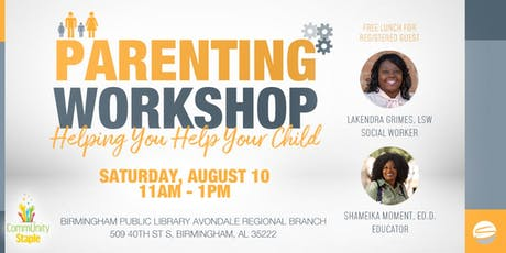 Helping You Help Your Child (Parenting Workshop) tickets