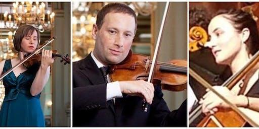 Cecily Ward, Violin; Tom Stone, Viola; Jessamyn Fry, Cello