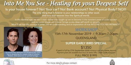 Into me you see Healing your deepest Self workshop