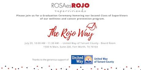 The Rojo Way: SuperVivors' Graduation - July 2019 tickets