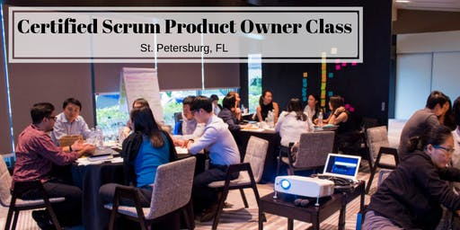 Certified Scrum Product Owner (CSPO) Training Class - in Tampa/ St Pete FL
