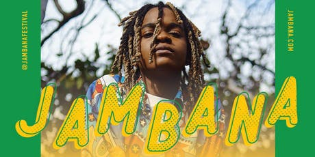 JAMBANA One World Festival 2019 feat. KOFFEE tickets