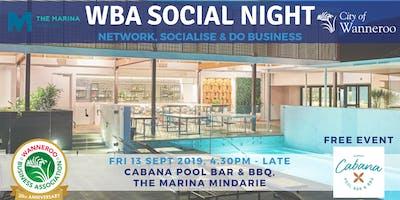 Free Networking Social Night