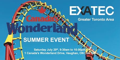 EXATEC GTA CELEBRATES CANADA DAY IN WONDERLAND tickets