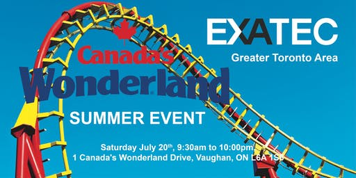 EXATEC GTA CELEBRATES CANADA DAY IN WONDERLAND