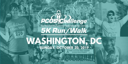 PCOS Walk 2019 - Washington, DC PCOS Challenge 5K Run/Walk