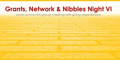 Grants, Network and Nibbles VI - the new presenters