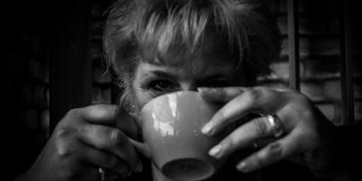 Kaffeetrinken Fotoshooting