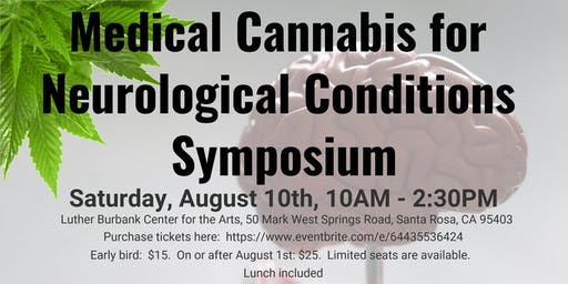 Medical Cannabis for Neurological Disorders Symposium