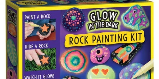 Glow In The Dark Rock Painting