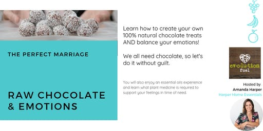 Raw chocolate & emotions - The perfect marriage workshop
