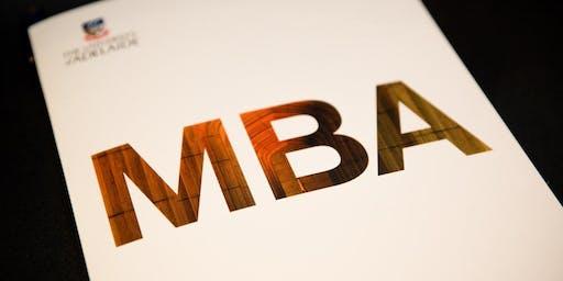 Adelaide MBA Information Session - September 2019