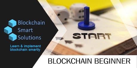 Blockchain Beginner | Melbourne | August-2019 tickets