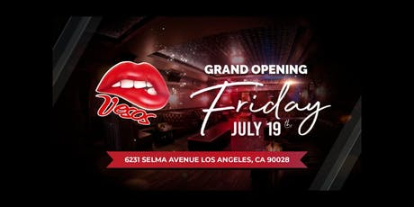 Vesos Hollywood Fridays 21+ tickets
