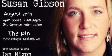 Susan Gibson at The Pin tickets