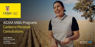 AGSM MBA Personal Consultations - Canberra