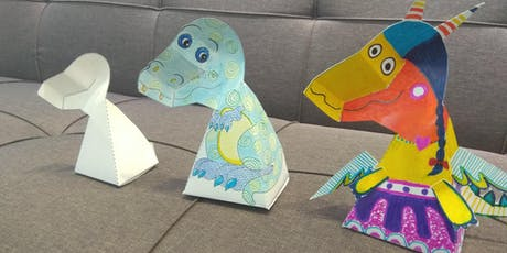 3D T-Rex Arts and Crafts with Love to Share Arts Centre tickets