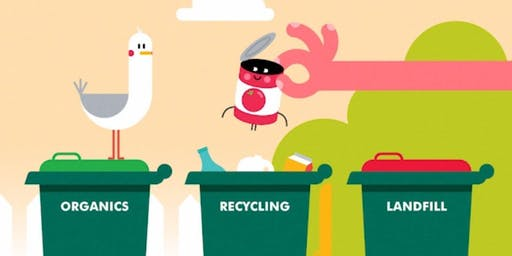 What's up with Recycling? - Teacher professional development session