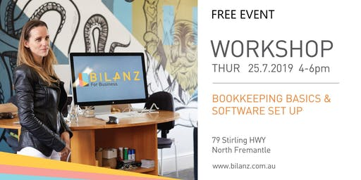 Bookkeeping Basics & Software Set Up (Free Event)