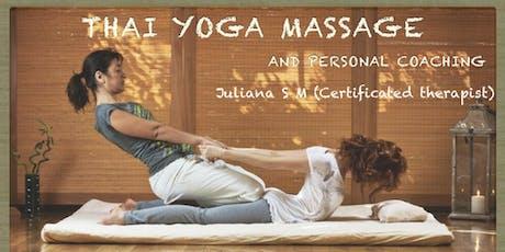 Thai Yoga Massage at the Memorial Park - Beacon tickets
