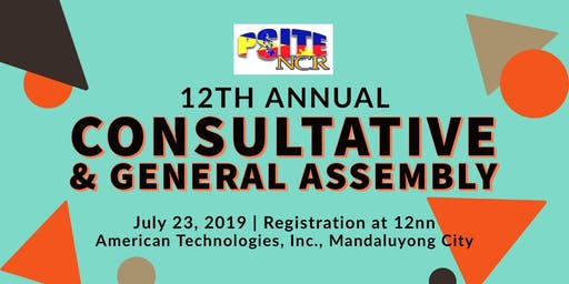 12th Annual Consultative and General Assembly