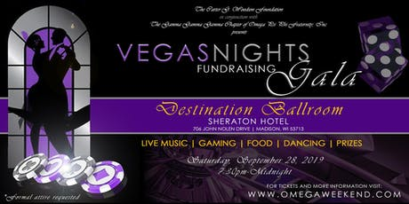 OMEGA WEEKEND 2019 - VEGAS NIGHTS FUNDRAISING GALA tickets
